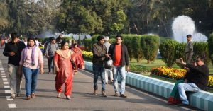 Odisha Assembly Garden opned for Public