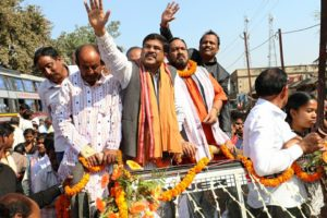 big-rally-for-welcoming-Dharmendra-Pradhan-in-BBSR