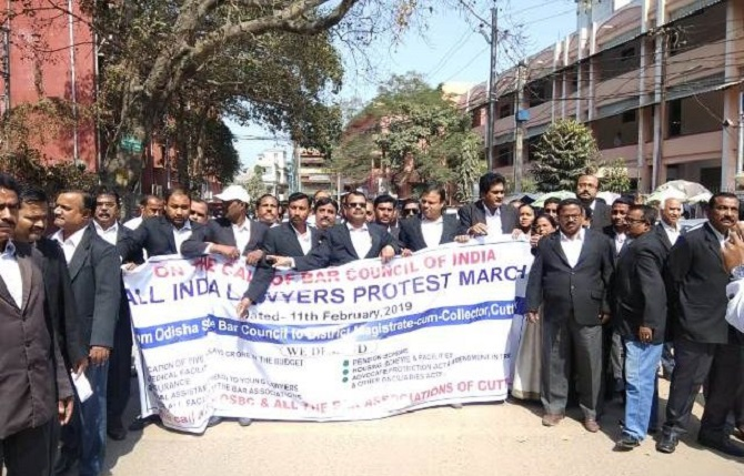 All-India-Lawer-Protest-Aajira-Odisha