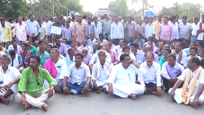 Farmers-Arrested-In-Bhubaneswar-Aajira-Odisha