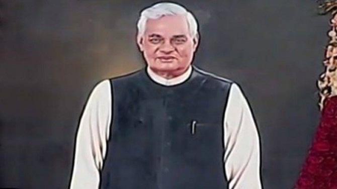 atal-bihari-vajpayee-portrait-Aajira-Odisha