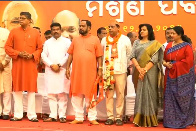 Babu-Singh-joined-BJP-Aajira-Odisha