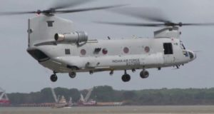 Chinook heavy-lift helicopters added in Indian Air-force -Aajira-Odisha