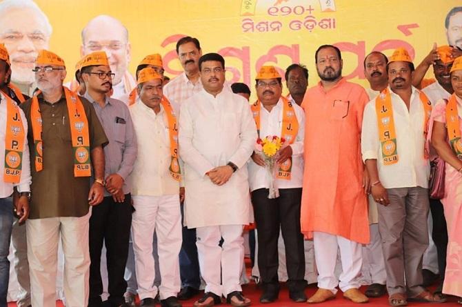 K-Narayan-Rao-Joined-BJP-Aajira-Odisha