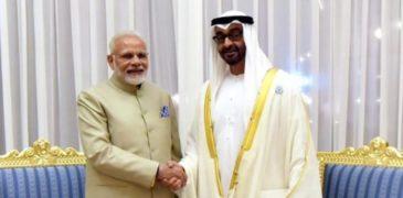 Narendra-Modi-Felicitated-as-Zayed-Medal-Aajira-Odisha